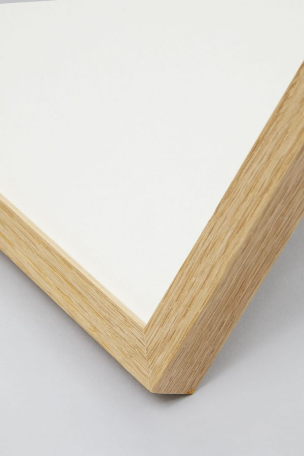 Oak Slim Profile Frame 4