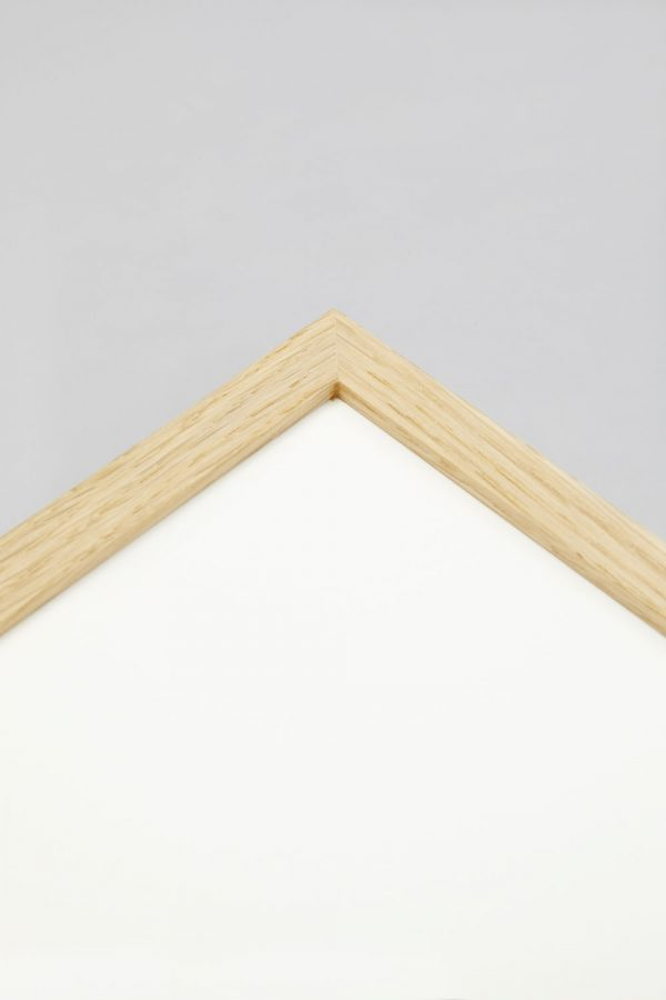 Oak Slim Profile Frame 2