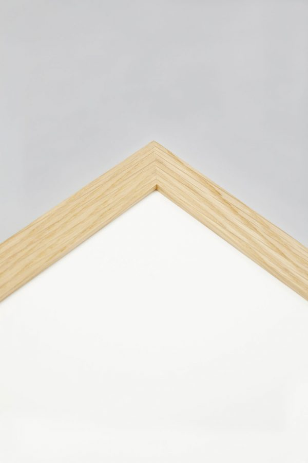 Oak Gallery Profile Frame 2