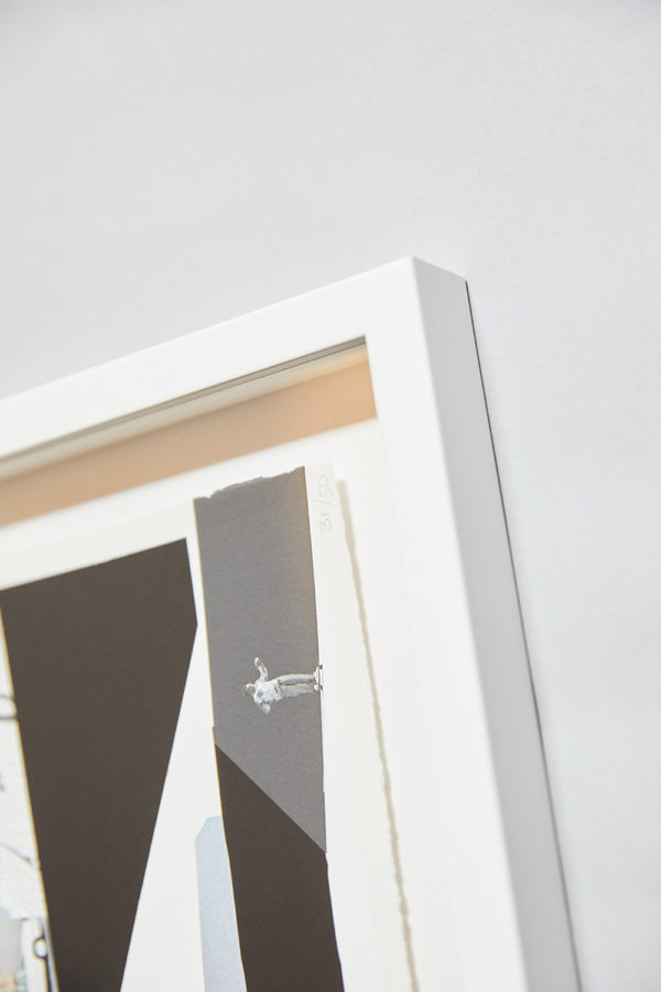 White Slim Profile Frame 1